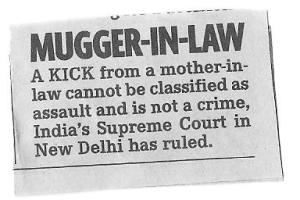 Mugger-in-law