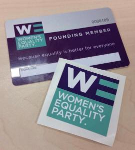 WEP membership card