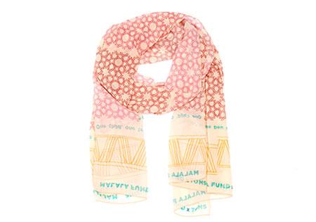 Malala Fund TOMS scarf