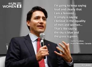 Justin Trudeau UN Women