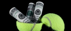 tennis money shutterstock